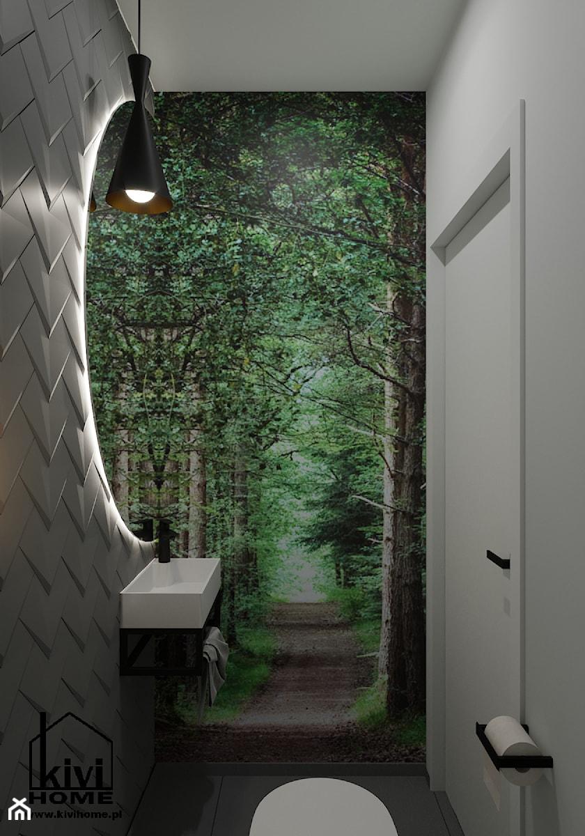 proejkt wc - zdjęcie od Kivi Home - projektowanie wnętrz