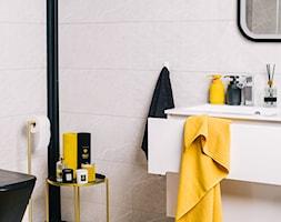 Żółto-czarna łazienka - zdjęcie od Homla - Homebook