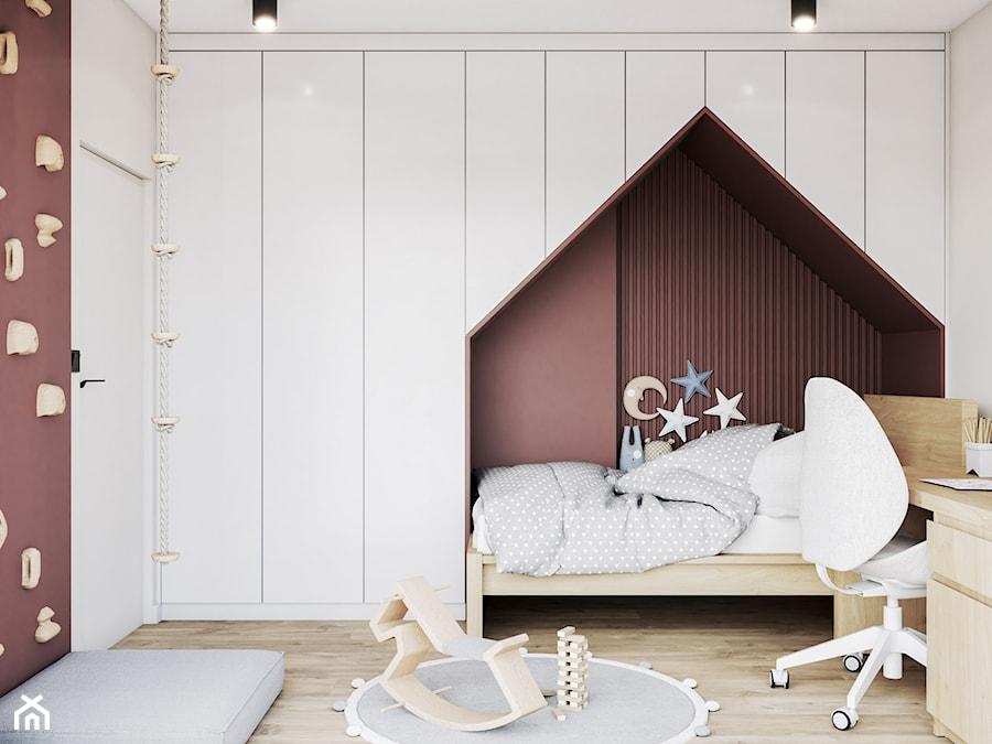 Nowoczesny pokój dziecięcy z łóżkiem typu domek - zdjęcie od VISIT HOME
