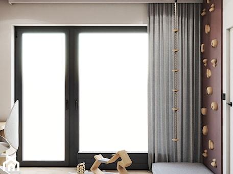 Aranżacje wnętrz - Pokój dziecka: Nowoczesny pokój dziecięcy z łóżkiem typu domek - VISIT HOME. Przeglądaj, dodawaj i zapisuj najlepsze zdjęcia, pomysły i inspiracje designerskie. W bazie mamy już prawie milion fotografii!