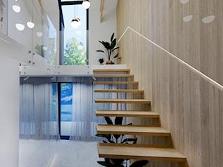 Projekt domu jednorodzinnego wraz z koncepcją projektu wnętrz