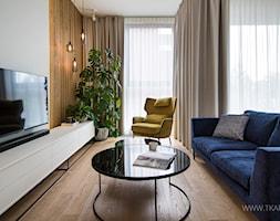 Mieszkanie 80m2 - Salon, styl nowoczesny - zdjęcie od TK Architekci - Homebook