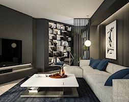Apartament 180 m2 - Salon, styl nowoczesny - zdjęcie od TK Architekci - Homebook