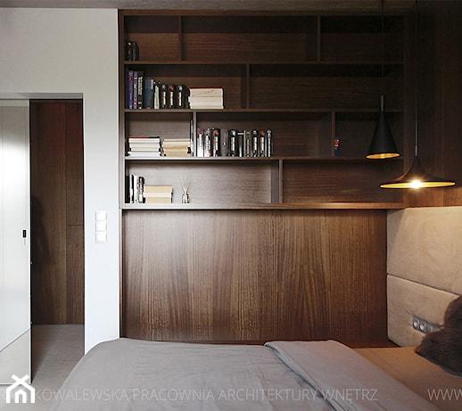 Nowoczesna architektura farba dulux biała czekolada - pomysły, inspiracje z homebook BI33