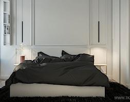 Apartament 180 m2 - Sypialnia, styl nowoczesny - zdjęcie od TK Architekci - Homebook