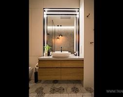 Mieszkanie 80m2 - Łazienka, styl nowoczesny - zdjęcie od TK Architekci - Homebook