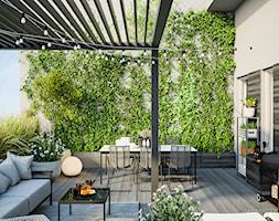Apartament 180 m2 - Taras, styl nowoczesny - zdjęcie od TK Architekci - Homebook