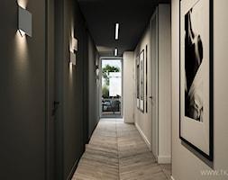 Apartament 180 m2 - Hol / przedpokój, styl nowoczesny - zdjęcie od TK Architekci - Homebook