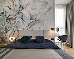 Mieszkanie 80m2 - Sypialnia, styl nowoczesny - zdjęcie od TK Architekci - Homebook