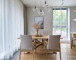 Mieszkanie 80m2 - Jadalnia, styl nowoczesny - zdjęcie od TK Architekci - Homebook