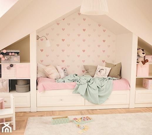 Gdynia Wzgórze Bernadowo - Średni pokój dziecka dla dziewczynki dla malucha - zdjęcie od Meblościanka Studio