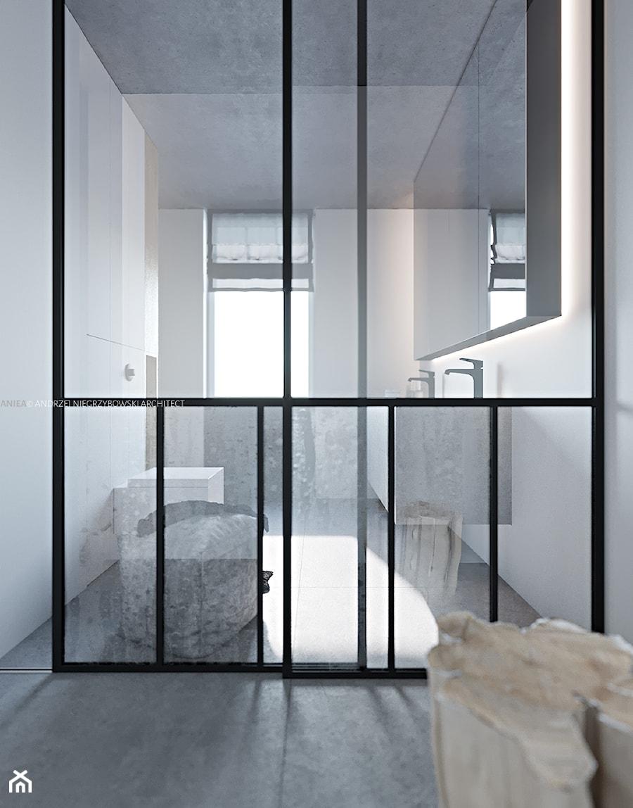 Łazienka główna - zdjęcie od ANIEA - Andrzej Niegrzybowski architekt