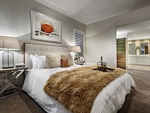 Biokominki EcoSmart - Burner Range - Średnia szara sypialnia małżeńska, styl nowoczesny - zdjęcie od Ambusto Polska