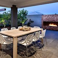 Letnie inspiracje - stylowy ogród z biokominkiem, Ogród