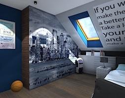 Projekt+pokoju+dla+16-latka+-+zdj%C4%99cie+od+Patrycja+Bedyk+Studio+Projektowe