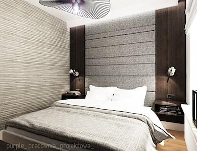 Sypialnia styl Nowoczesny - zdjęcie od PURPLE PRACOWNIA