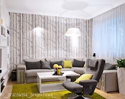 Salon styl Eklektyczny - zdjęcie od PURPLE PRACOWNIA