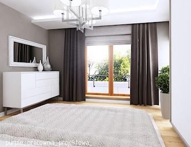 Sypialnia styl Glamour - zdjęcie od PURPLE PRACOWNIA