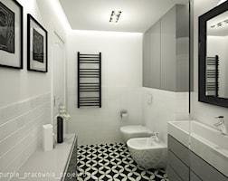 Łazienka styl Eklektyczny - zdjęcie od PURPLE PRACOWNIA
