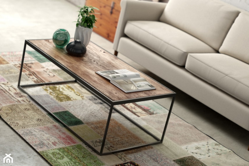 meble loftowe Ława simple  zdjęcie od HDfurniture
