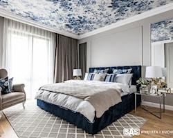 Duża sypialnia - aranżacje, pomysły, inspiracje