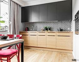 Kuchnia Z Fototapeta Na Scianie Nad Blatem Kuchennym Aranzacje