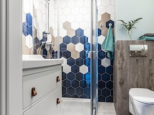 Trendy Homebook: Geometria w łazience