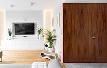 Salon styl Minimalistyczny - zdjęcie od Patryk Kowalski Architektura i projektowanie wnętrz