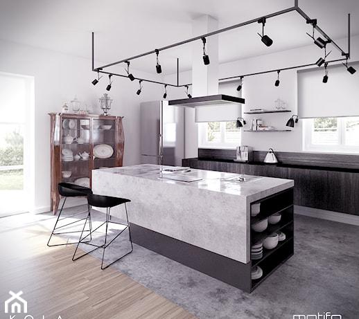Kuchnia w stylu eklektycznym, Projekt KOLA Studio Wizualizacje Architektonicz