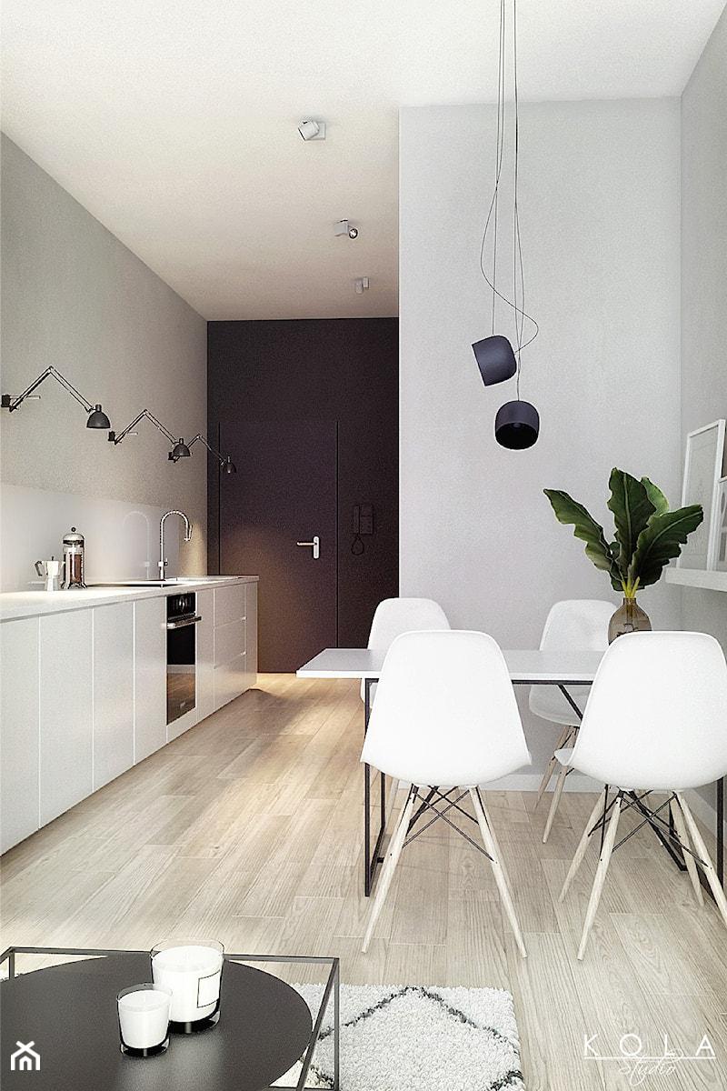 Minimalistyczna Biała Kuchnia Zdjęcie Od Kola Studio