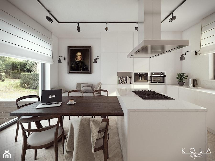 Kuchnia Eklektyczna  zdjęcie od KOLA Studio Wizualizacje Architektoniczne