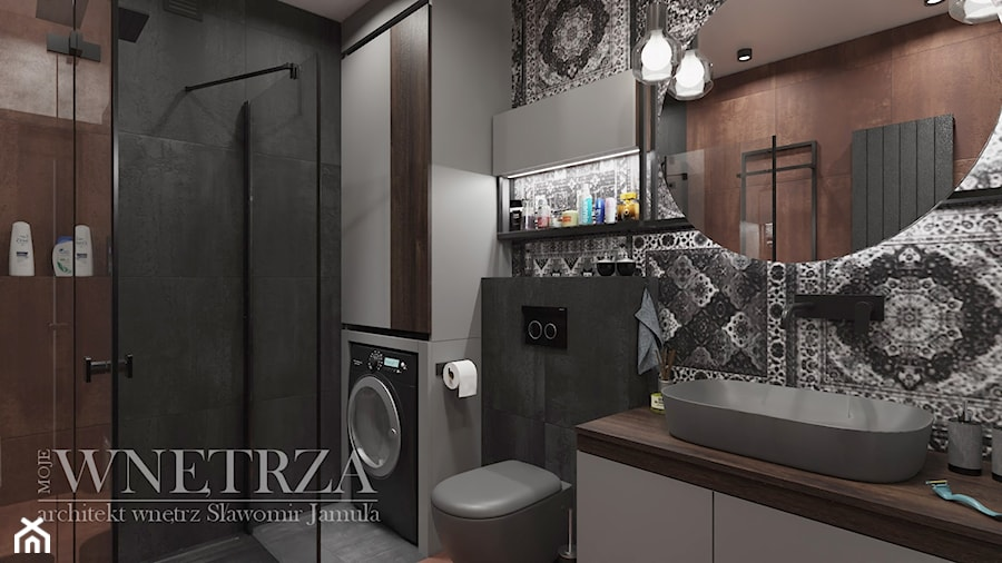 łazienka - zdjęcie od MOJE WNĘTRZA Pracownia Projektowa Jamuła Sławomir