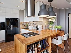 Kuchnia otwarta na salon - wady i zalety