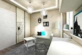Wnętrza w stylu glamour dla dorastającej nastolatki - zdjęcie od JLT DESIGN - homebook