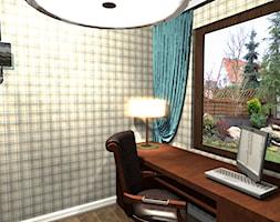 Dom w Cholerzynie - Biuro, styl prowansalski - zdjęcie od 213design