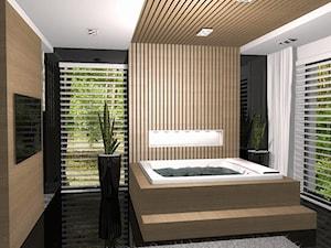 Salon łazienkowy z sauną 1.4 - zdjęcie od EJOT DESIGN Edyta Jonkisz