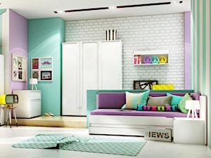 Nowoczesny pokój dla dzieci i młodzieży - zdjęcie od Gotowe Wnętrza