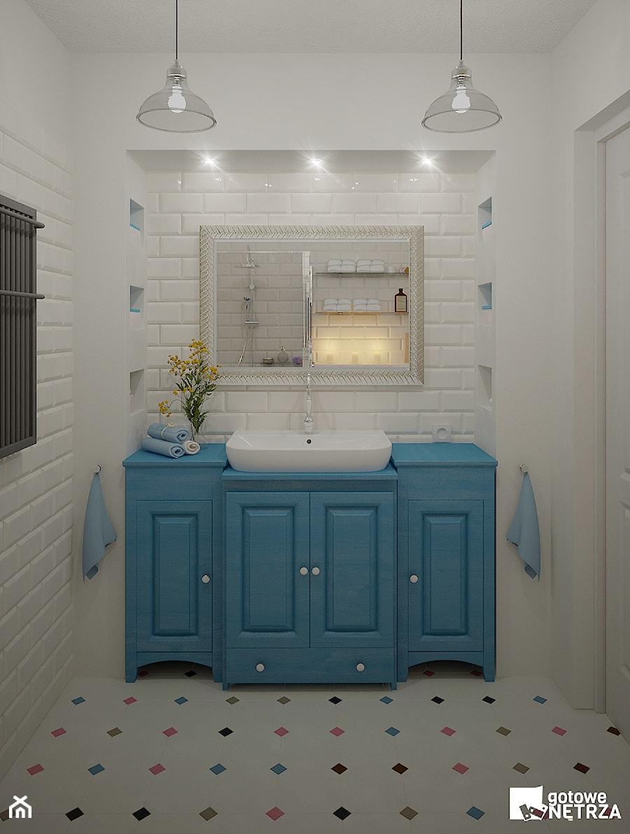 łazienka Florence Styl Folk Zdjęcie Od Gotowe Wnętrza