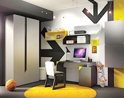Pokój młodzieżowy dla chłopca - zdjęcie od Gotowe Wnętrza - Homebook