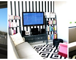 salon z jednym akcentem - zdjęcie od Fabryka Wnętrz