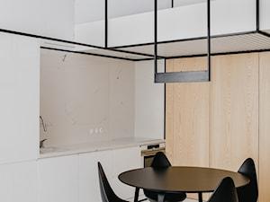 Apartament w Krakowie - Średnia jadalnia w kuchni, styl minimalistyczny - zdjęcie od MUS ARCHITECTS