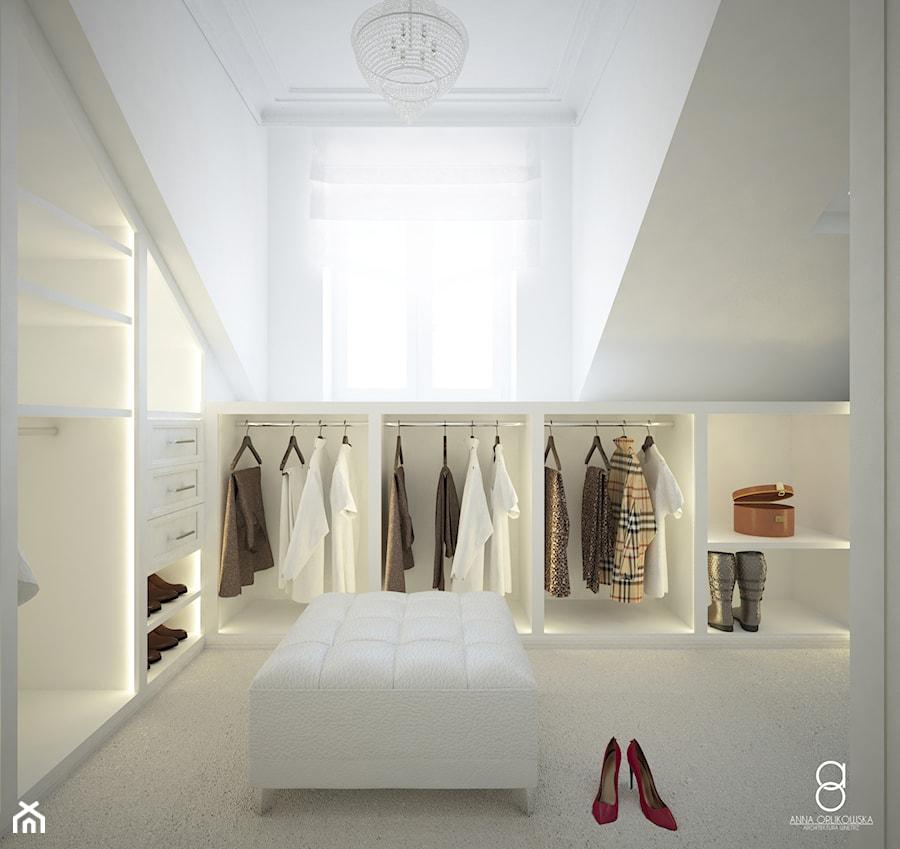 Aranżacje wnętrz - Garderoba: Garderoba dla Niej i dla Niego - ANNA ORLIKOWSKA ARCHITEKTURA WNĘTRZ. Przeglądaj, dodawaj i zapisuj najlepsze zdjęcia, pomysły i inspiracje designerskie. W bazie mamy już prawie milion fotografii!