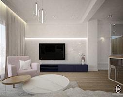 Dom Żory - Salon, styl nowoczesny - zdjęcie od ANNA ORLIKOWSKA ARCHITEKTURA WNĘTRZ - Homebook