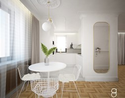 Dom jednorodzinny Kraków - Kuchnia, styl nowoczesny - zdjęcie od ANNA ORLIKOWSKA ARCHITEKTURA WNĘTRZ - Homebook