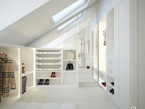 Garderoba dla Niej i dla Niego - zdjęcie od ANNA ORLIKOWSKA ARCHITEKTURA WNĘTRZ