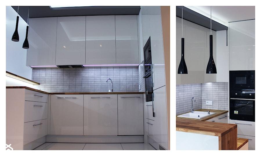 Kuchnia na wymiar do małego mieszkania  zdjęcie od Szafawawa -> Kuchnia Na Wymiar W Bloku Cena