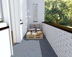 Klimatyczny balkon. - zdjęcie od Shift plus Deco
