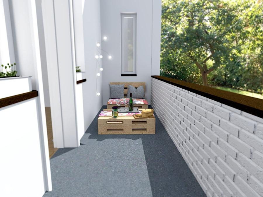 Aranżacje wnętrz - Taras: Klimatyczny balkon. - Shift plus Deco. Przeglądaj, dodawaj i zapisuj najlepsze zdjęcia, pomysły i inspiracje designerskie. W bazie mamy już prawie milion fotografii!
