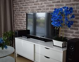 Niebieski storczyk - Salon, styl nowoczesny - zdjęcie od Adriana Piotrowska - Homebook