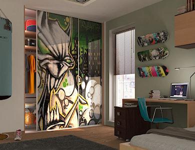 Pokój dziecka - zdjęcie od KOMANDOR WARSZAWA - Szafy, garderoby, meble na wymiar